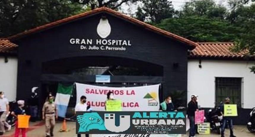 UPCP repudia los agravios vertidos  contra los trabajadores del Hospital Perrando y exige urgente rectificación a las autoridades
