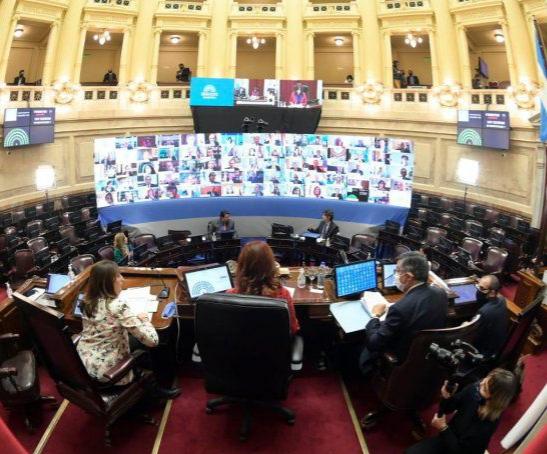 Con Moroni y la CGT, el Senado comienza el debate del proyecto de teletrabajo