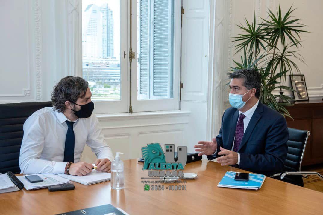 El Gobernador Capitanich, se reunió con Ministros de la Nación