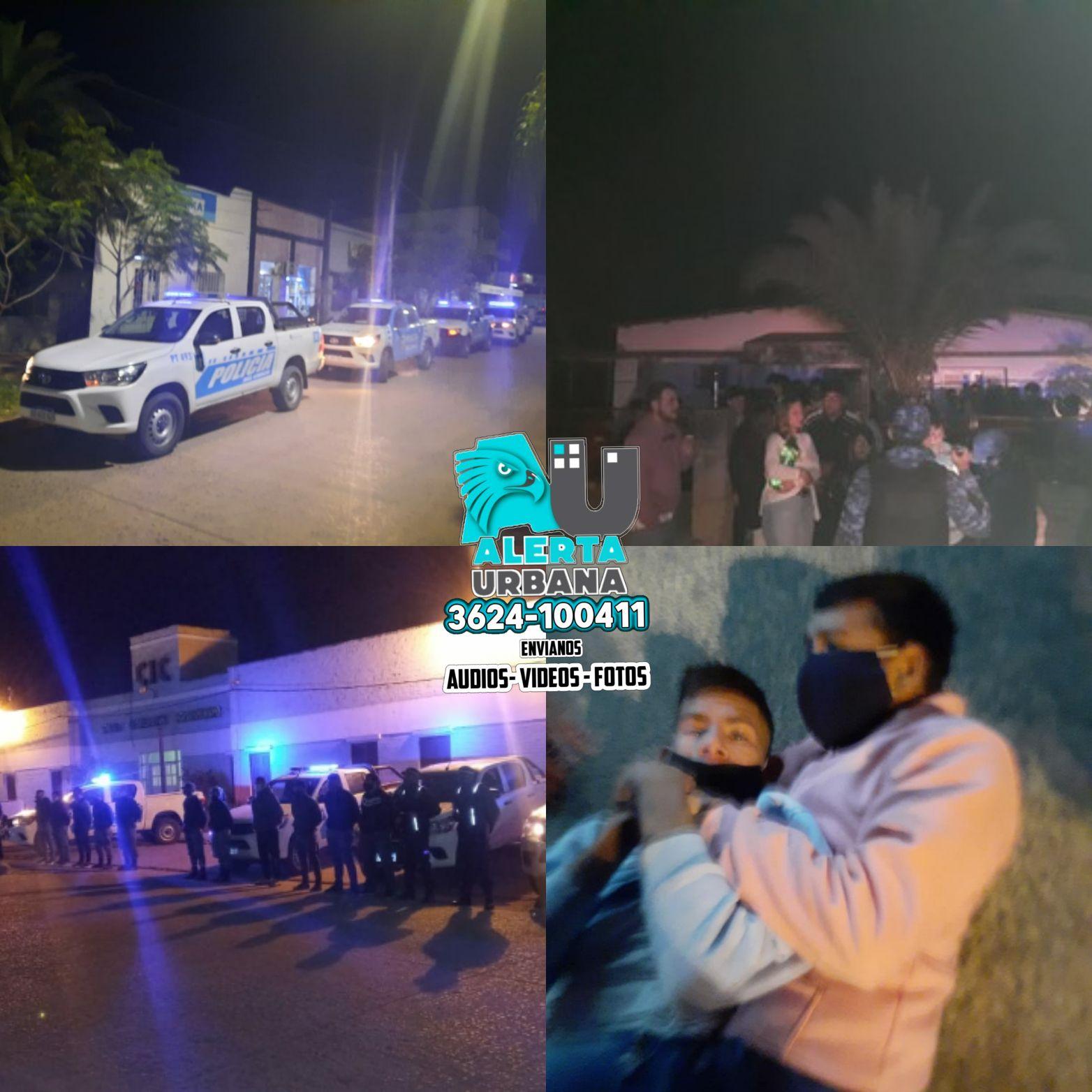 Chaco: sucesos policiales del fin de semana
