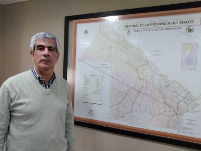 Chaco: estado y ejecución de rutas y pavimento urbano en varias localidades