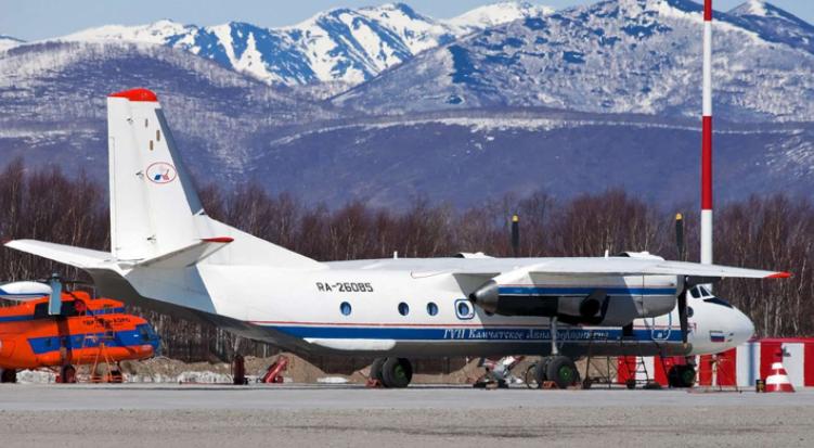 Encontraron los restos de un avión que desapareció en el  oriente de Rusia con 28 personas a bordo