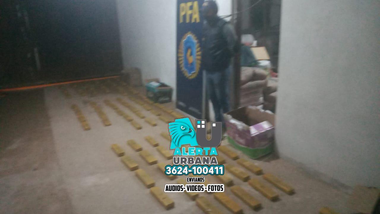 Resistencia: la droga quedó a resguardo de la Policía Federal