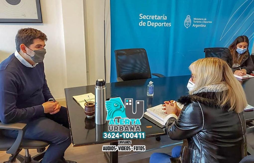El Municipio de Fontana  y el Gobierno Nacional avanzan hacia el fortalecimiento de las actividades deportivas