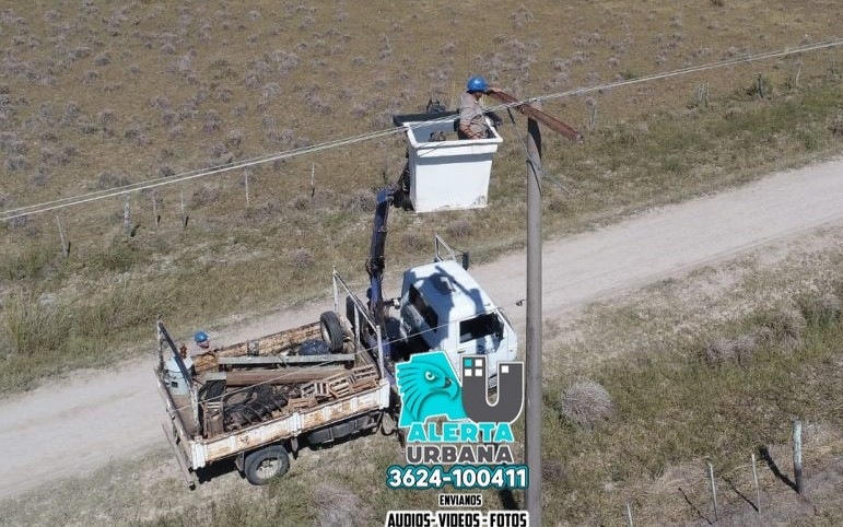 Suministro eléctrico a la Isla del Cerrito, tramo final de las obras