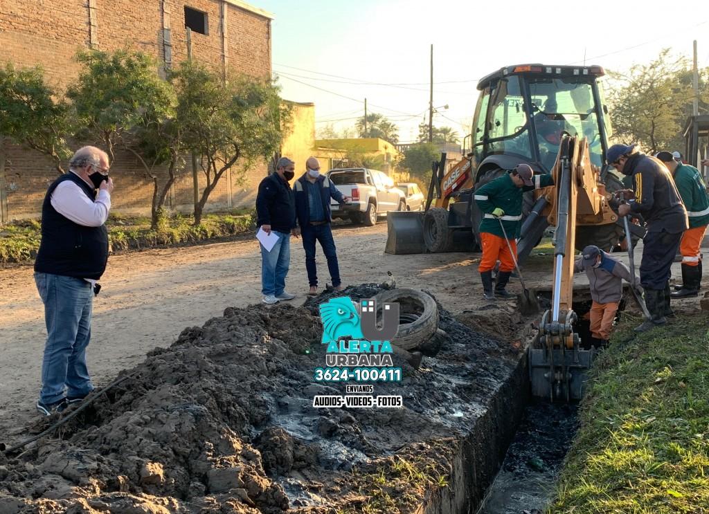 Zona Sur: la municipalidad potencia la refuncionalización de desagües