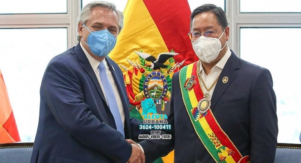 El presidente Alberto Fernández y su par boliviano condenaron el envío de material bélico