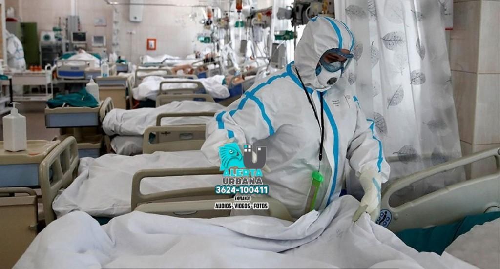 El 57% de los pacientes que ingresan a terapia por Covid muere