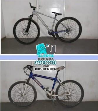 Recuperan dos bicicletas valuadas en cien mil pesos