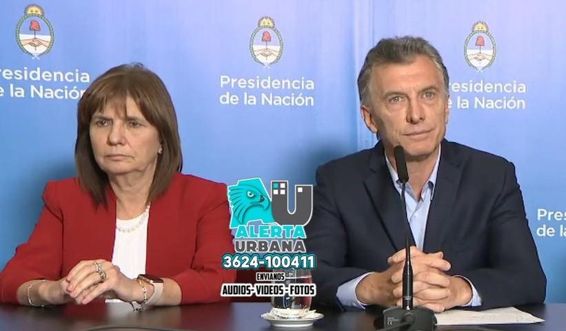 Imputaron a Mauricio Macri y Patricia Bullrich por el envío de armamento a Bolivia