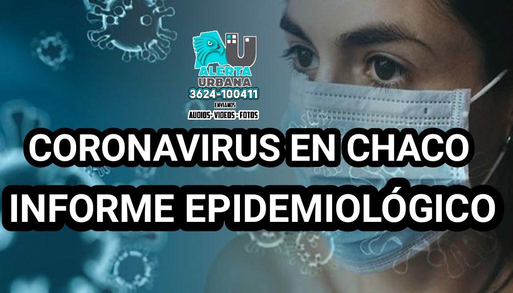 Chaco: nuevo reporte epidemiológico