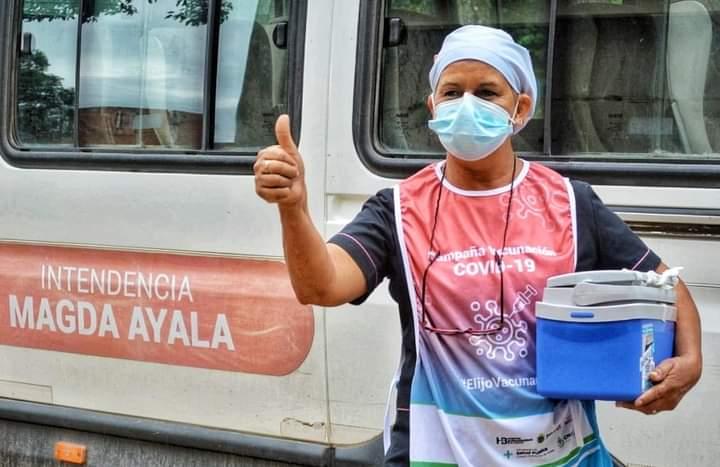 Barranqueras: La intendente destacó el gran desempeño del equipo de salud