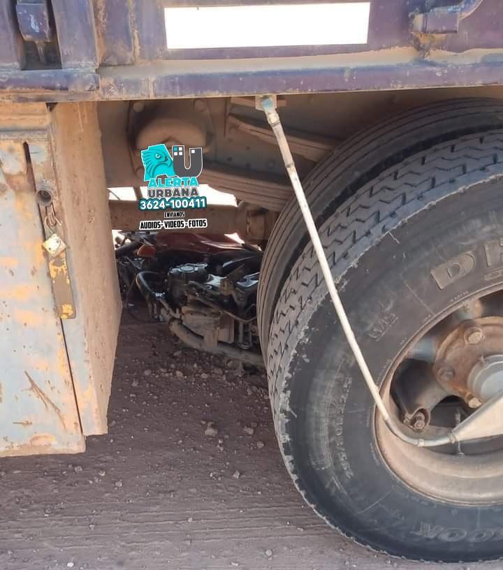 Charata: joven murió atropellado por un camión