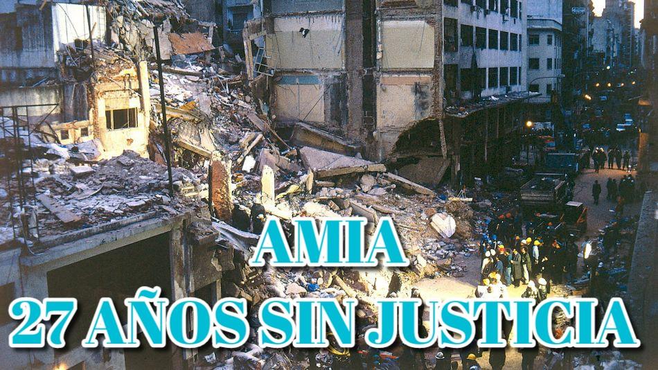 Se cumplen 27 años del atentado contra la AMIA