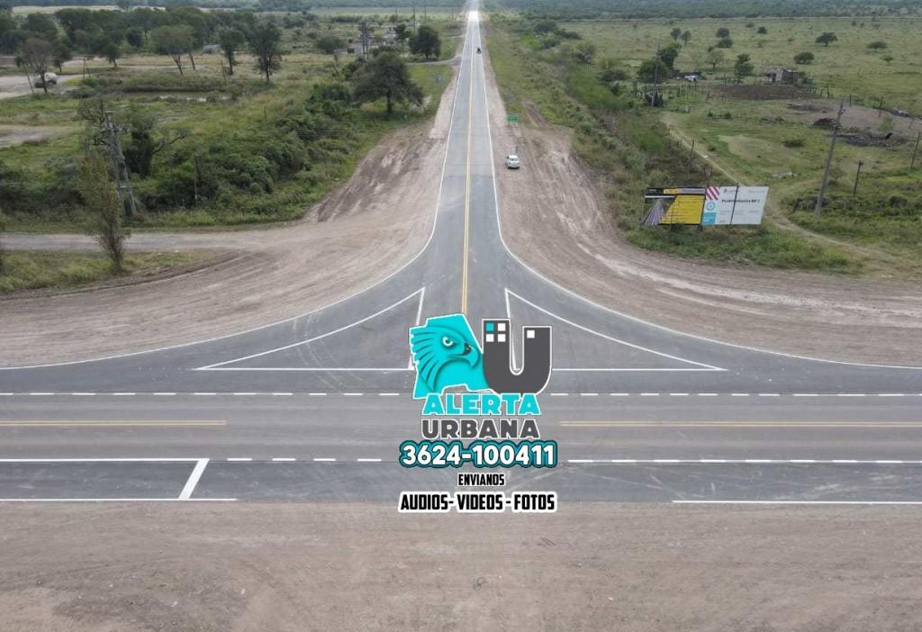 Con la presencia de Alberto Fernández se inaugura el último tramo de la ruta 7