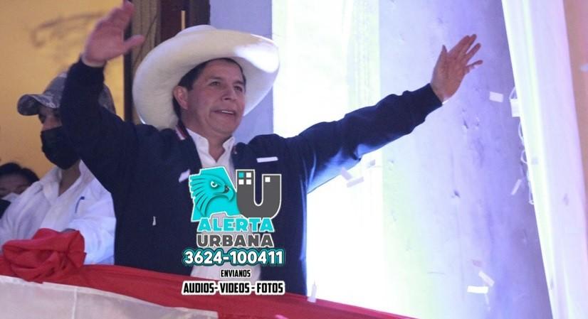 Castillo finalmente fue proclamado presidente electo de Perú