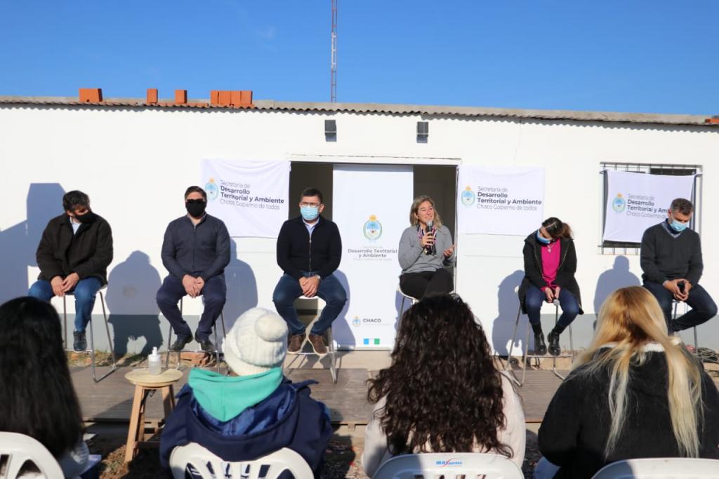 La Rubita: el gobierno expuso las etapas de ejecución del proyecto de urbanización