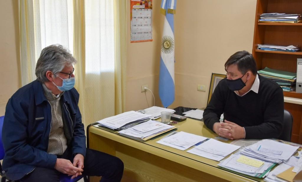 Hugo Sager y Ignacio Rostán coordinan agenda de trabajo para el desarrollo de Basail