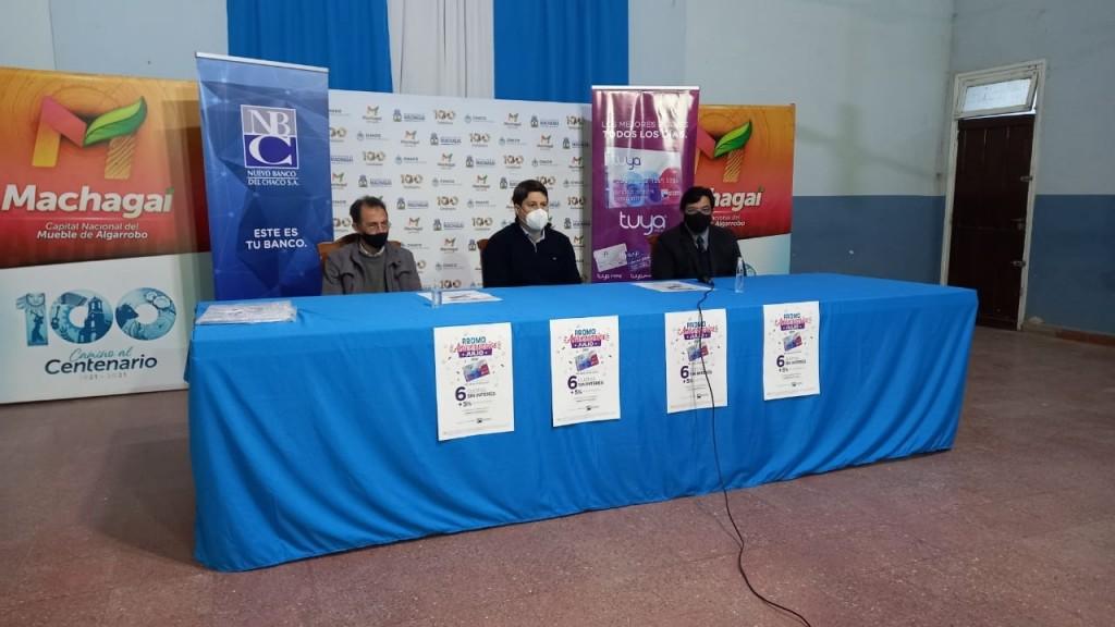 Machagai celebra con la Promoción Aniversarios de Tarjeta Tuya