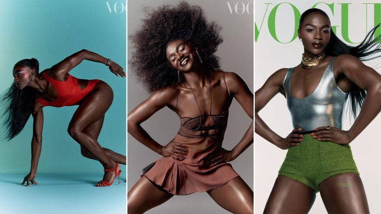 """Le dicen la """"Bolt"""" británica, es tapa de Vogue y ahora busca convertirse en la sensación de las olimpiadas de Tokio"""