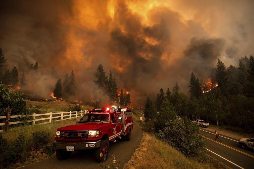 Incendios, cúpula de calor e inundaciones