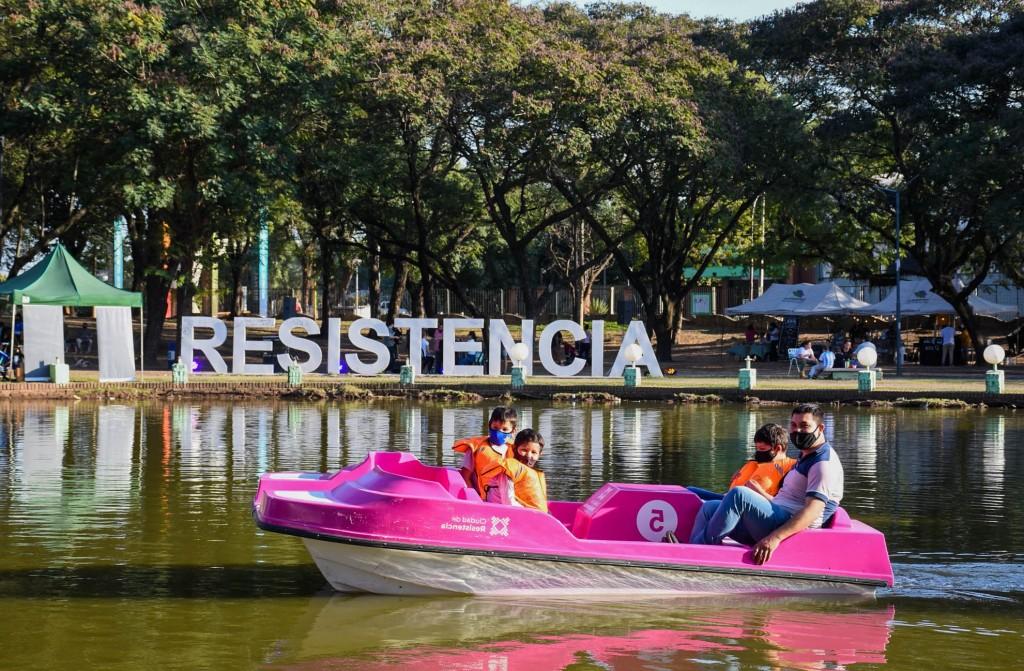 Resistencia amplió la flota de bicibotes