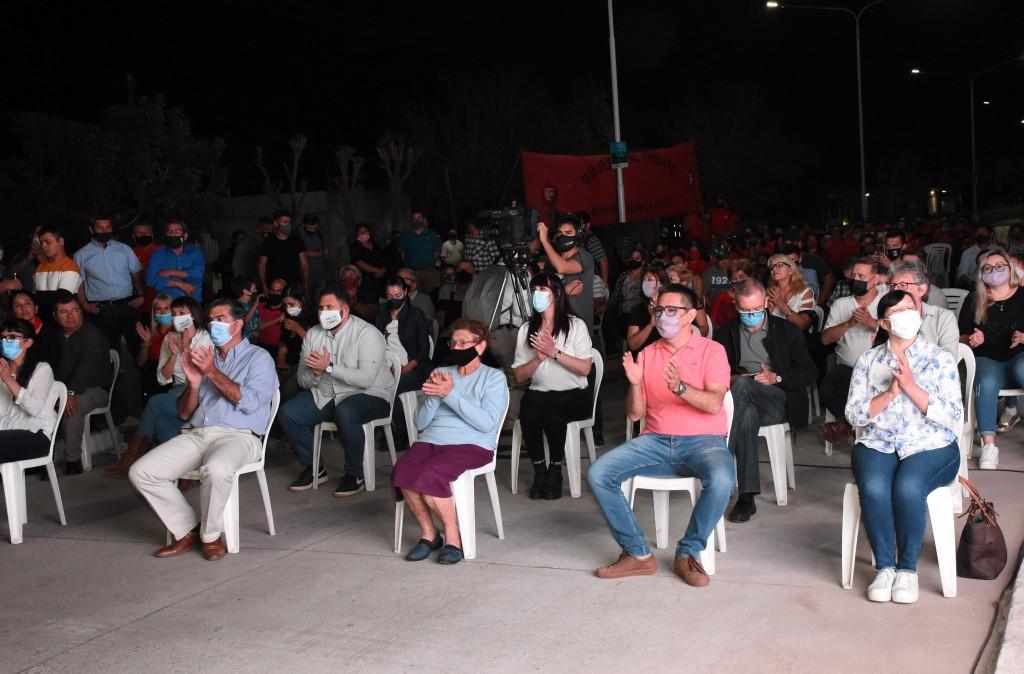 """Av. San Martín: """"Esta obra es un paso más en el trabajo conjunto entre municipio y provincia"""""""