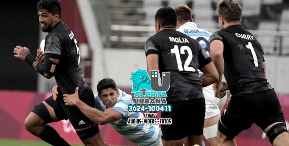Los Pumas '7 no pudieron con la potencia de los hombres de Nueva Zelanda