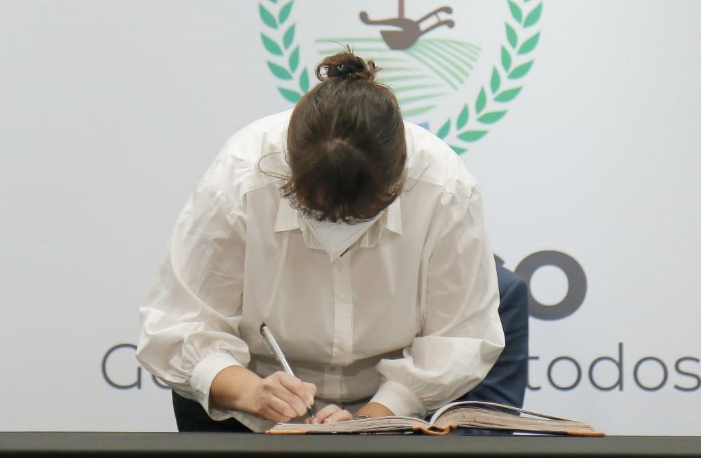 Juró la nueva Ministra Salud Carolina Centeno