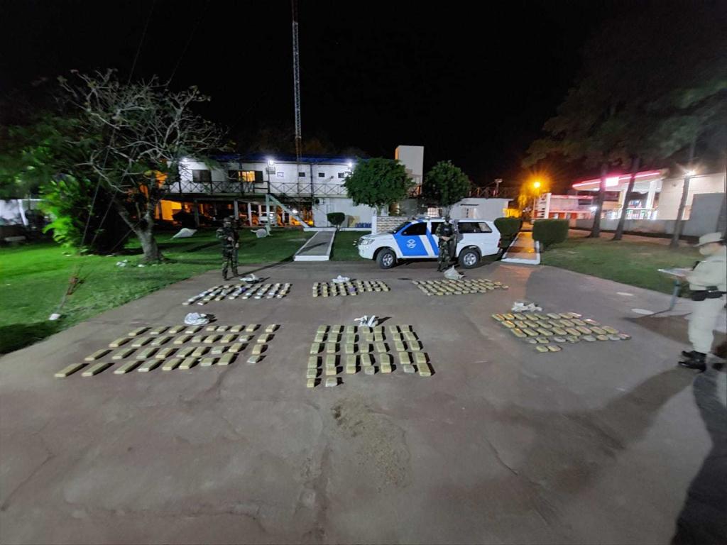 Corrientes: Prefectura secuestró más de 150 kilos de marihuana