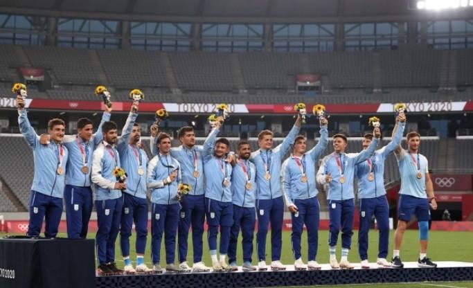 Los Pumas ganaron el bronce en el rugby seven
