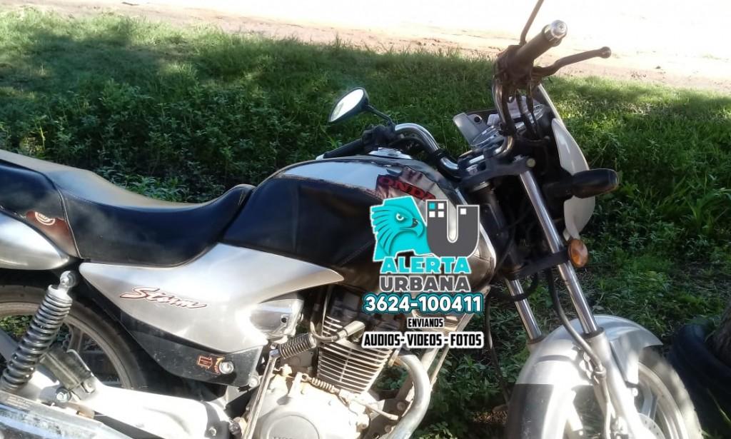 Desesperado pedido por moto robada en Margarita Belén