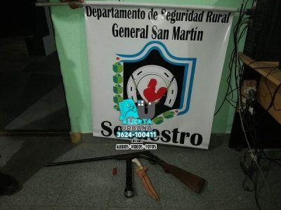 San Martín: cazadores furtivos