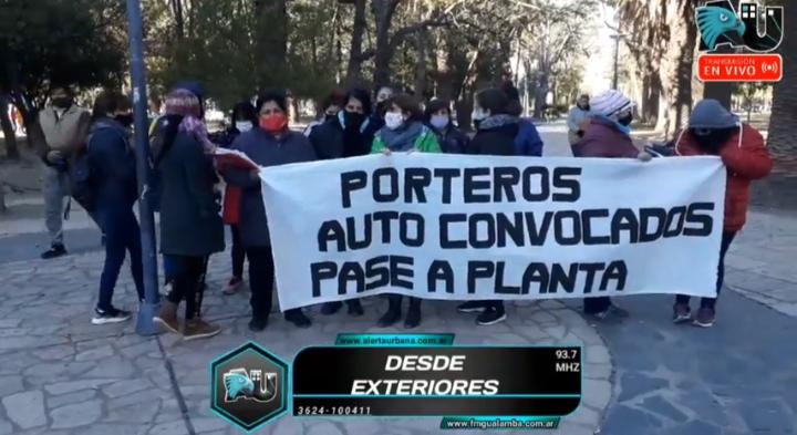 Porteros del Chaco reclaman estabilidad laboral