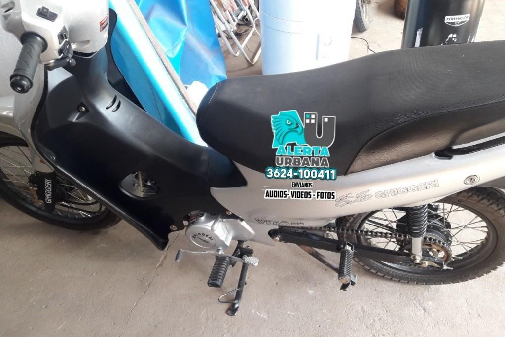 Moto robada, se solicita información