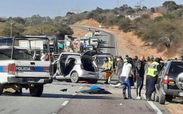 Salta: seis personas murieron en un choque frontal