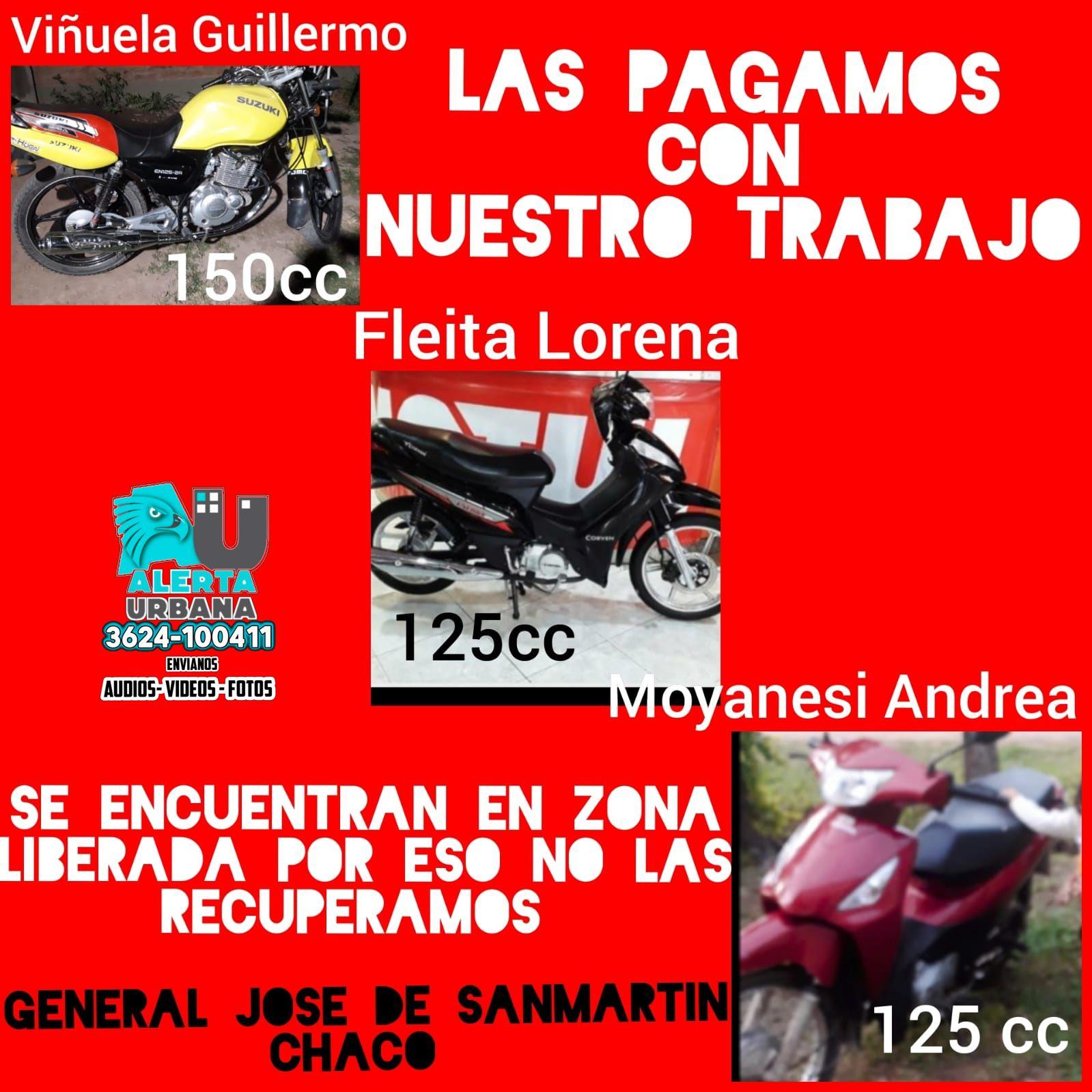 Caso barrio Los Silos: denuncian que les devuelvan sus motos