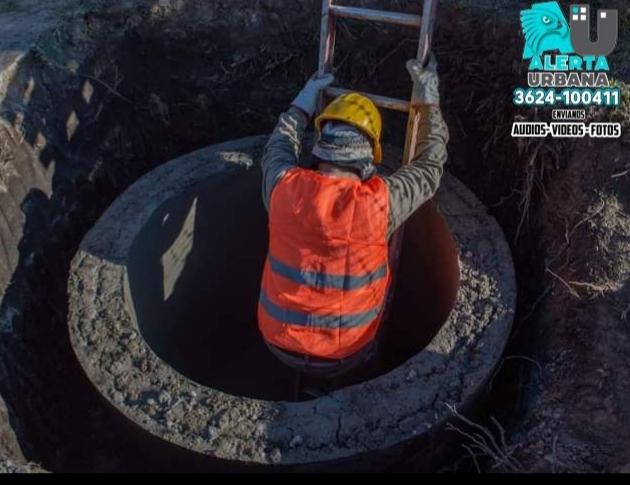 Sameep continúa con obras de saneamiento en La Liguria