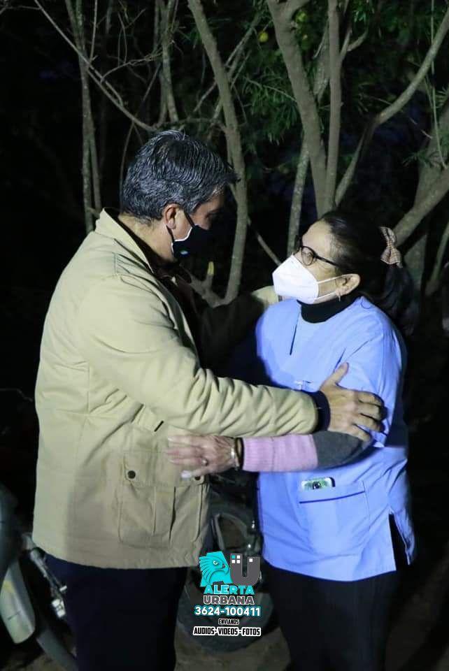 Centro de salud para Paraje La Matanza e iluminación para Quitilipi