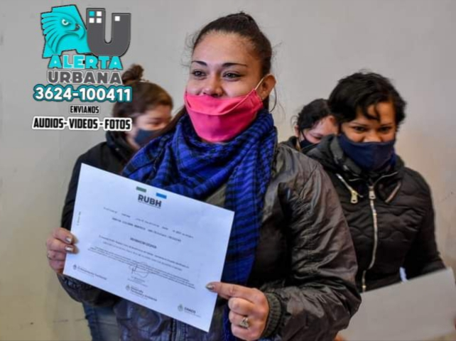 Fontana: Familias del Barrio Balastro I ya tiene RUBH