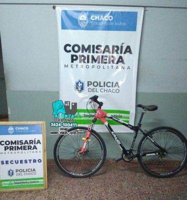La Policía recupera una bicicleta y una moto sustraída en 2014