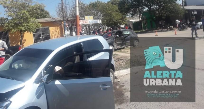 Otro accidente de tránsito en Av Edison y Sáenz Peña en Resistencia