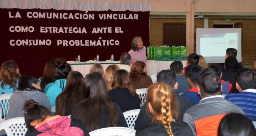 Consumos Problemáticos: El gobierno avanza con los talleres en prevención en toda la provincia