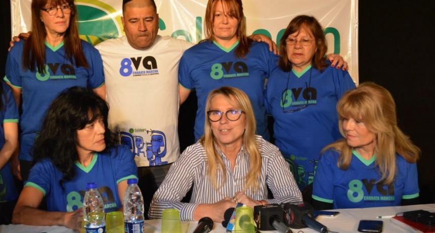La Intendente Chomiak acompañó la presentación de la 8va Edición de Charata Marcha, Corre, Pedalea y Patina