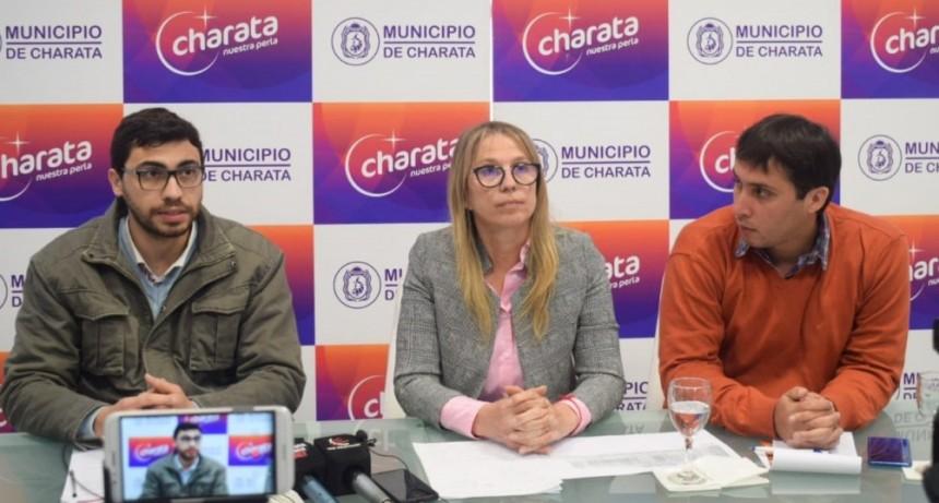 Chomiak aseguró la continuidad de obras a pesar de la situación del país