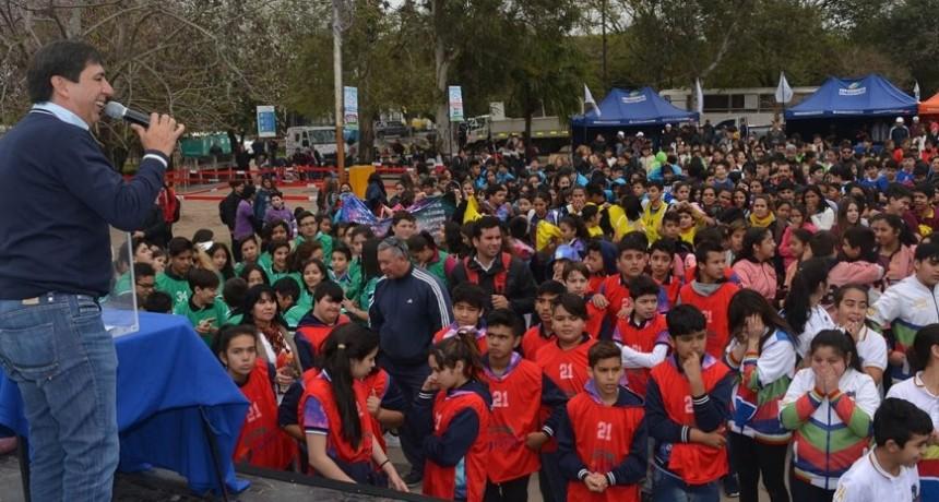 La Presidencia del Concejo realizó la Mini Olimpiada con más de mil alumnos de escuelas primarias