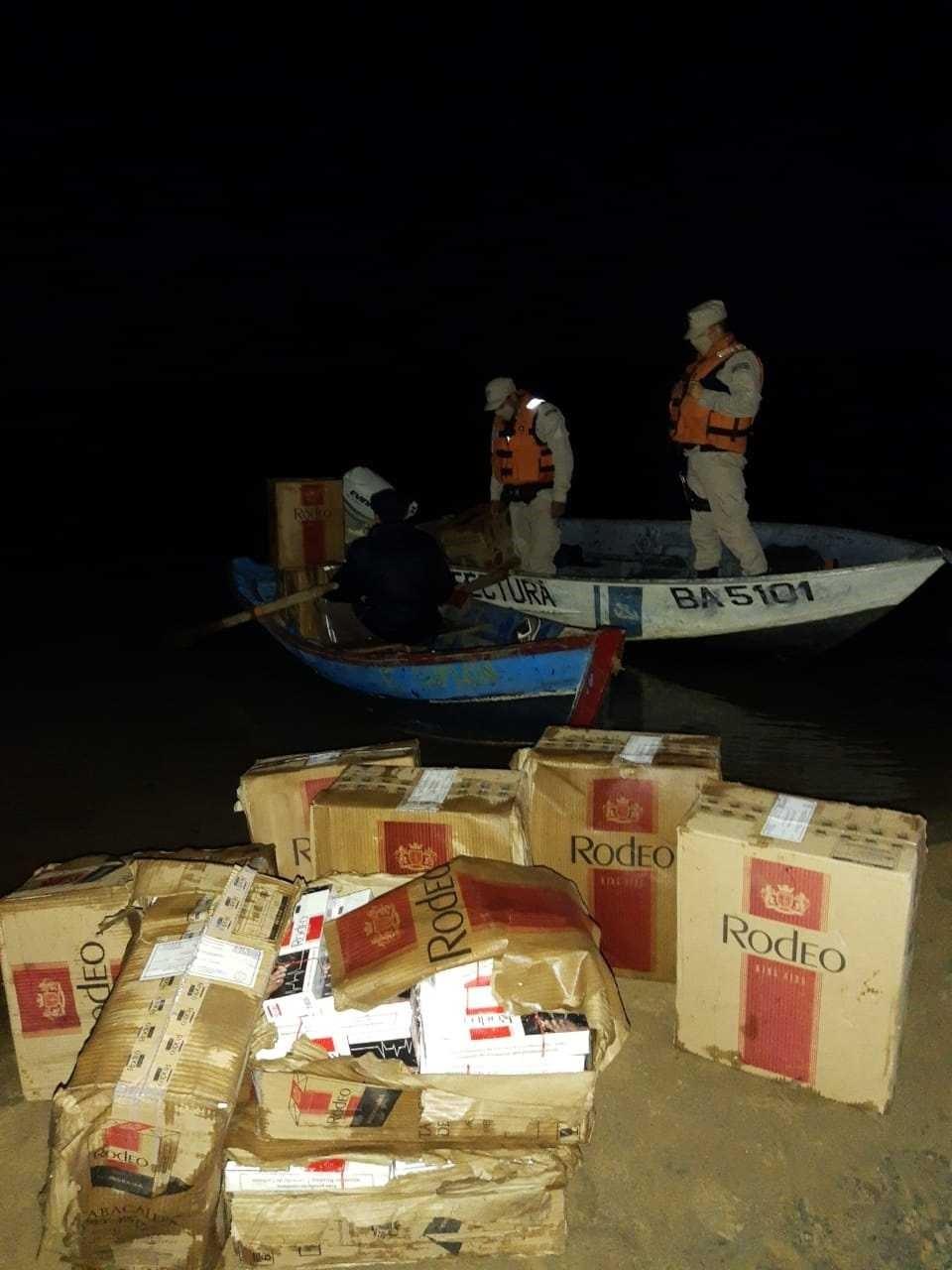 Corrientes: Secuestran cargamento millonario de cigarrillos ilegales