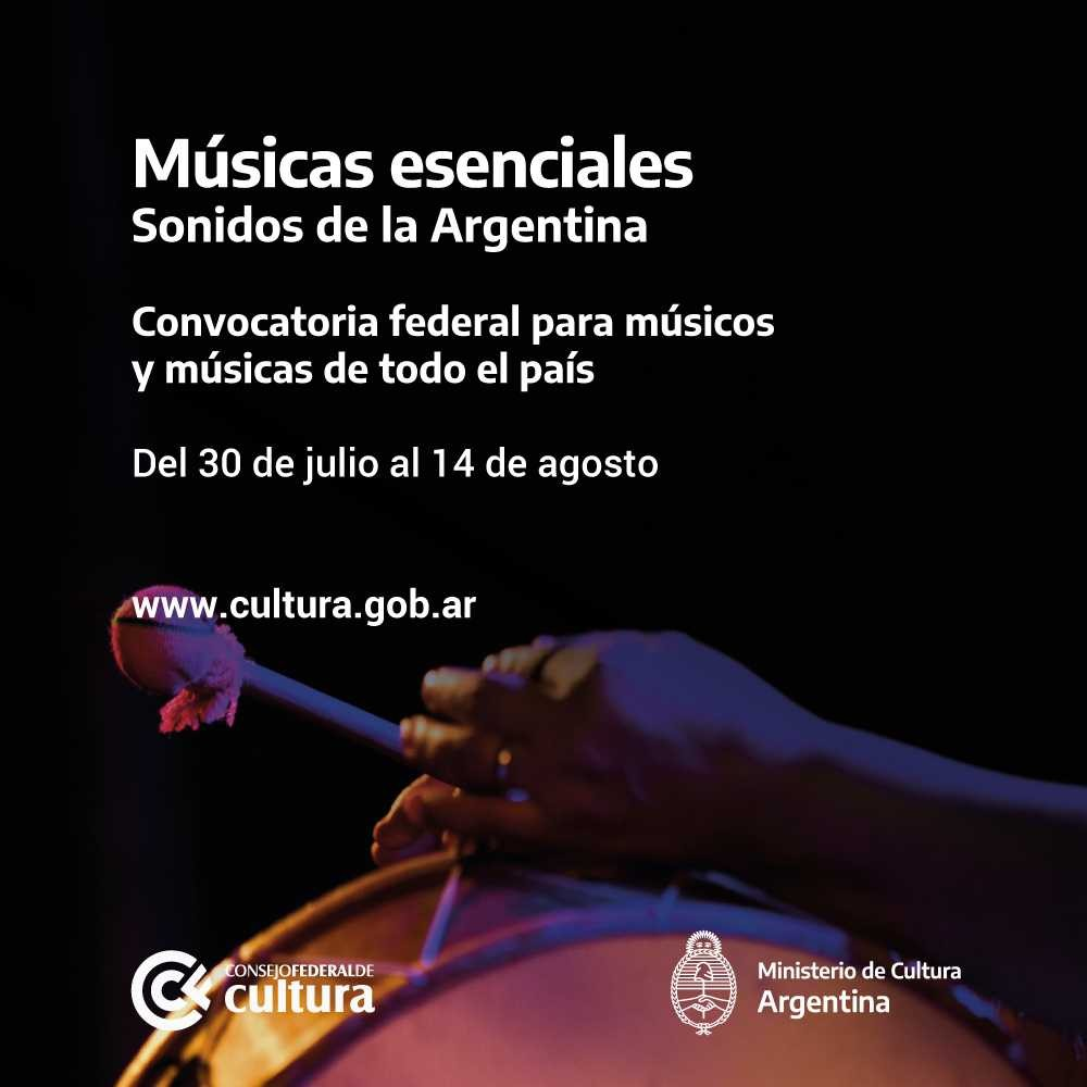 Músicas Esenciales, una convocatoria que difunde músicas y músicos de todo país