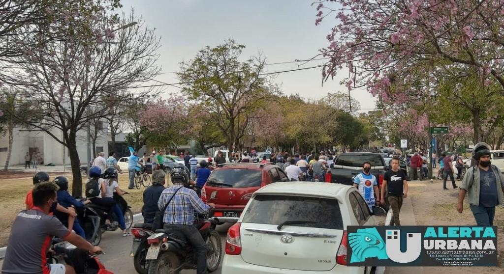 El Sindicato de Trabajadores Municipales se manifestó contra el incumplimiento judicial del municipio