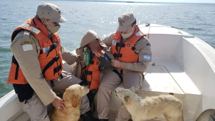 Misiones: Prefectura Naval Argentina, encontró a un menor que se había perdido.
